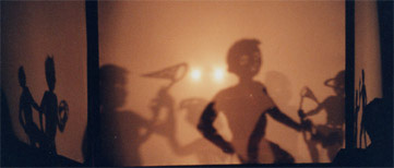 Body Tjak shadow puppets