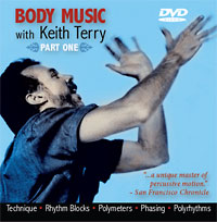 Body Music, Part 1 with Keith Terry DVD