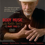 Body Music, Part Two with Keith Terry DVD
