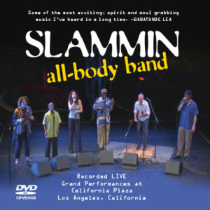 Slammin All-Body Band Performance Video DVD