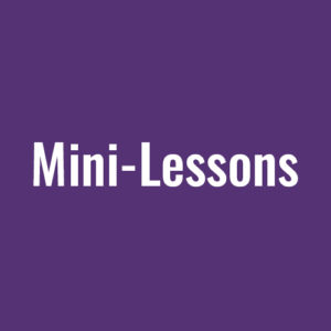 Body Music Mini-Lessons